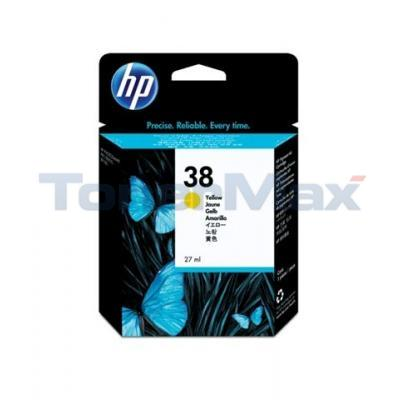 HP NO 38 VIVERA INK YELLOW 840 PAGES